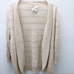 3/25 Sweater by CJ Banks 1x Ladies Cream (8)